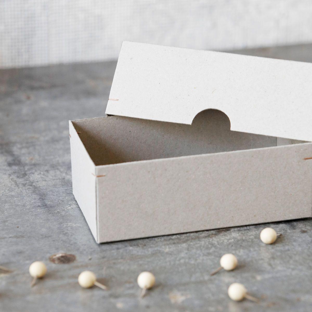 56f8718cf Papírové krabičky Cardboard - set 3 ks ...