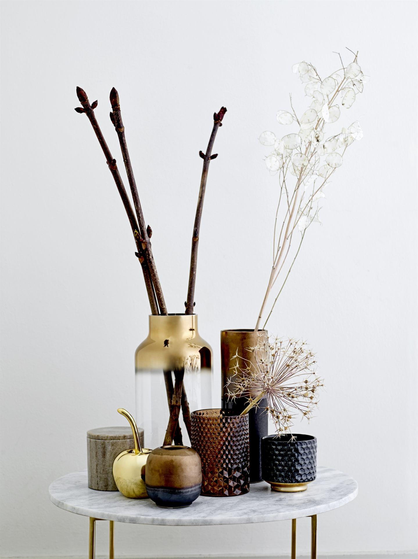 Kameninový květináč s lesklou glazurou