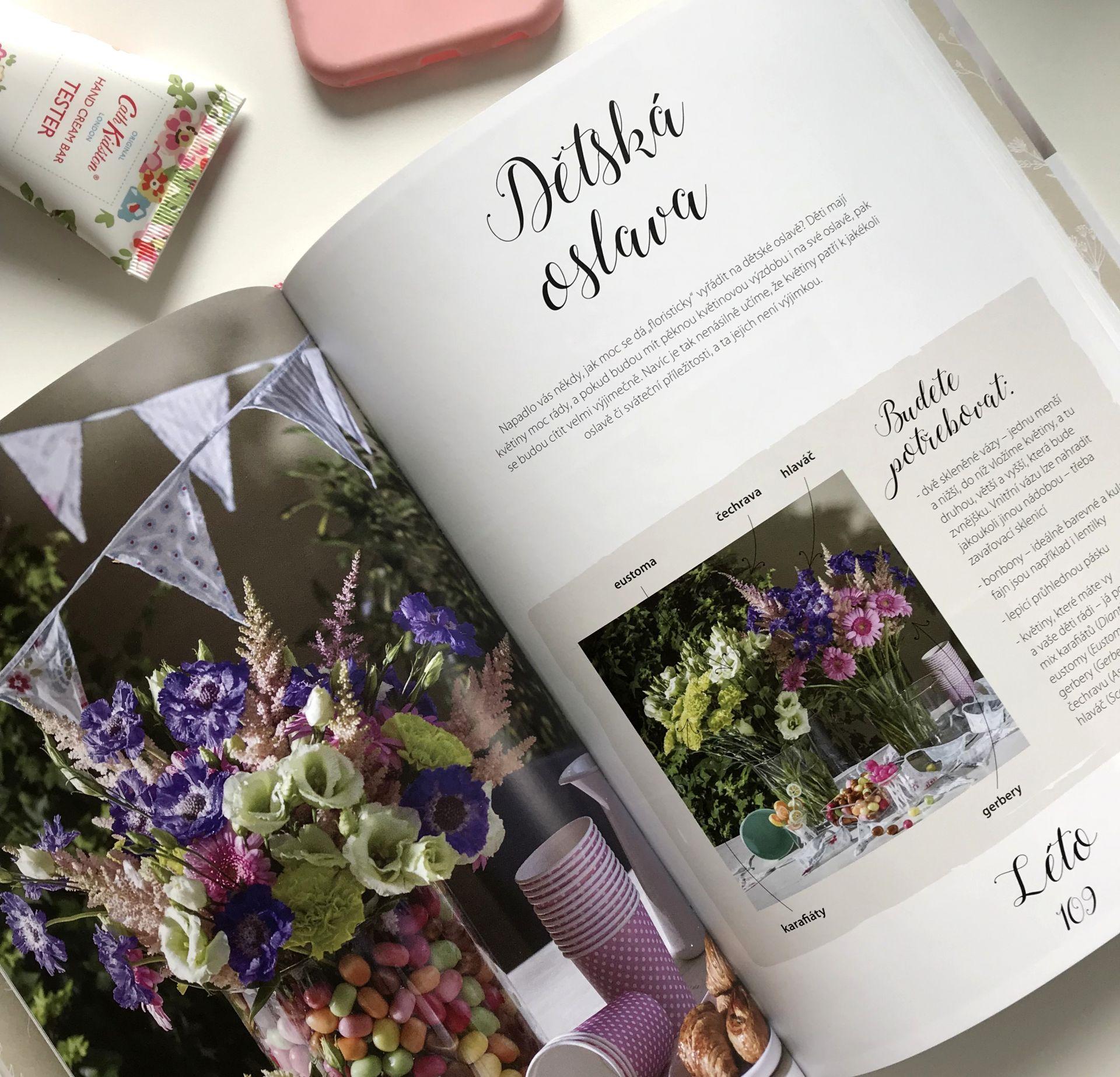 Můj květinový ateliér - Markéta Keclíková