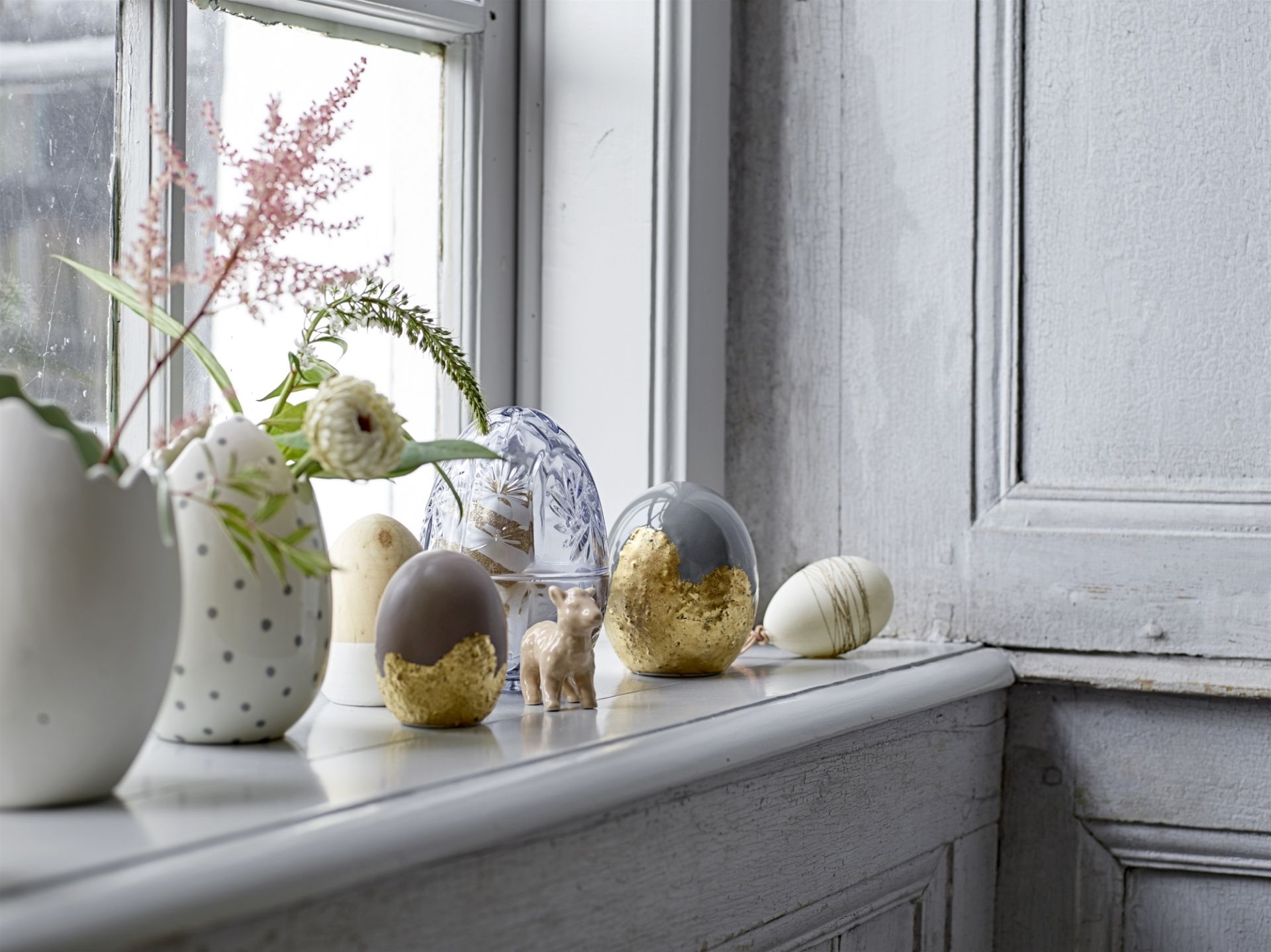 Velikonoční stylové dekorace