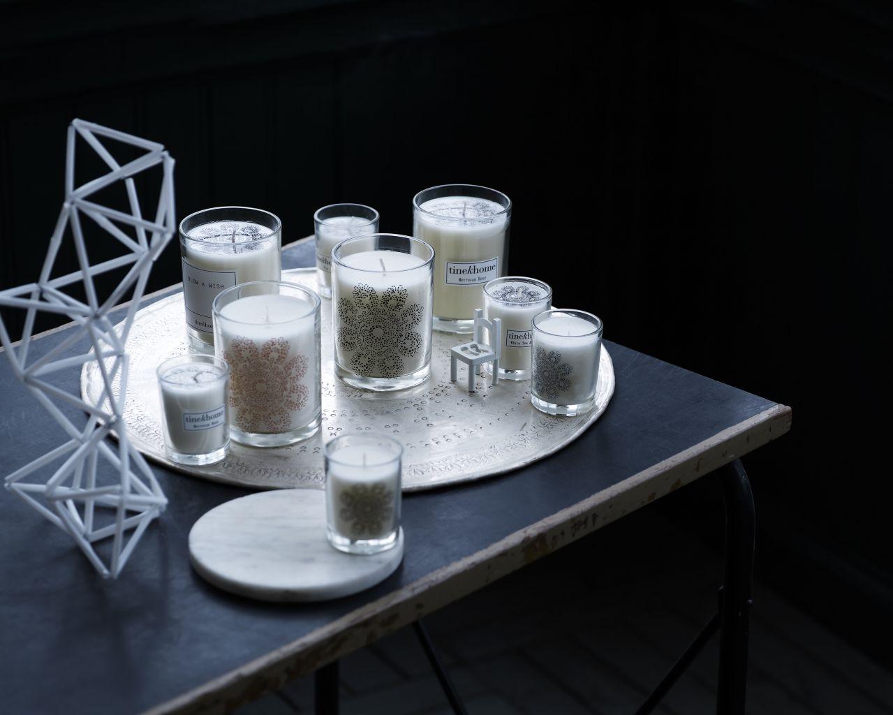 Vonné svíčky Tine K Home