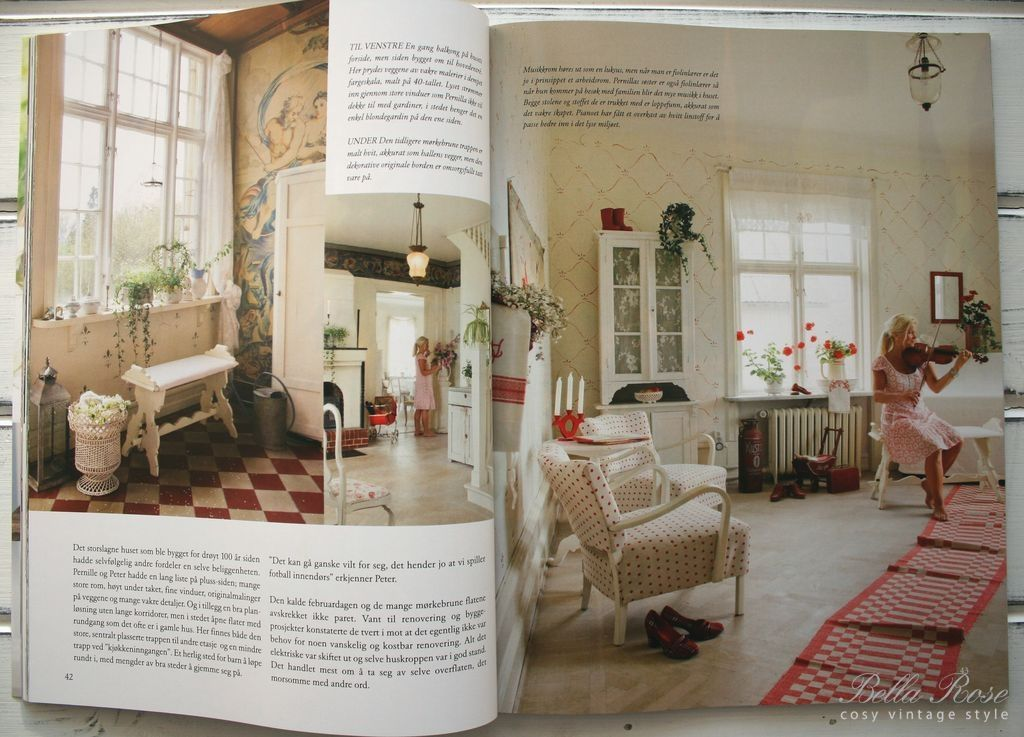 Vakre Hjem & Interior 3/2011  Bella Rose