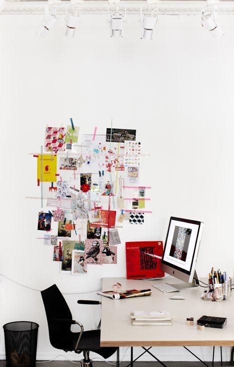 Hravá kancelář s Washi páskou