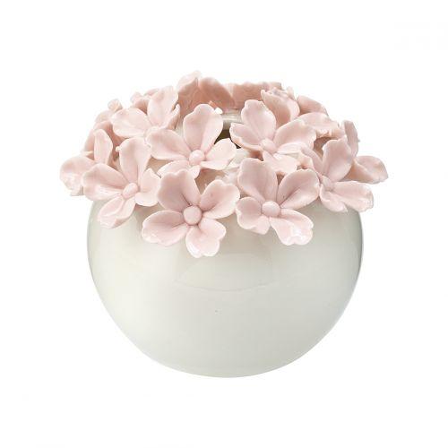 GREEN GATE / Keramická vázička Flower Pale Pink Xsmall