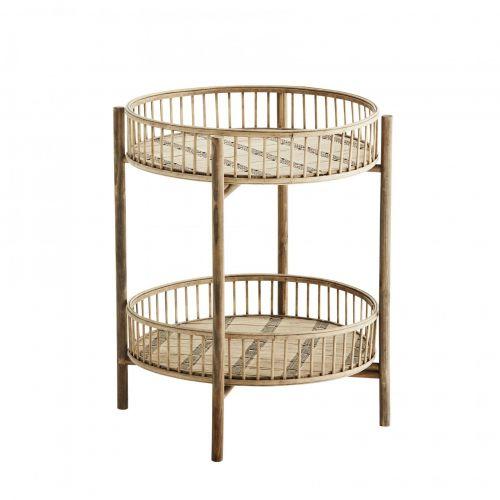 MADAM STOLTZ / Odkladací stolík Bamboo Side