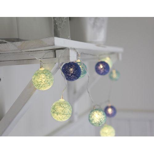 STAR TRADING / Dekoratívna svietiaca reťaz Blue Lights