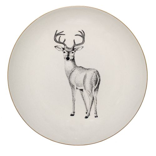 Bloomingville / Keramický tanier Noel 25 cm