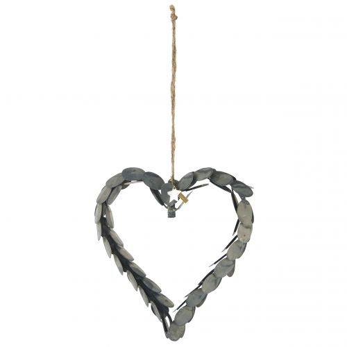 IB LAURSEN / Závěsné kovové srdce Leaves