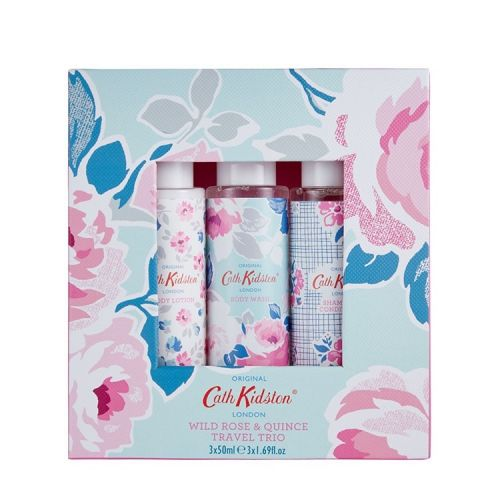 Cath Kidston / Cestovný set Wild Rose and Quince - 3x50ml