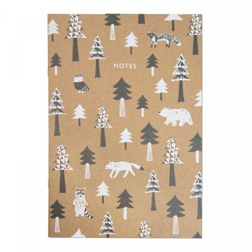 Ohh Deer / Linkovaný zošit Scandi Treeline