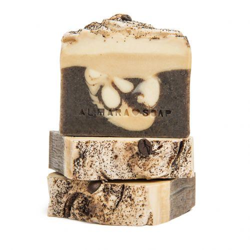 Almara Soap / Prírodné mydlo Coffee Time
