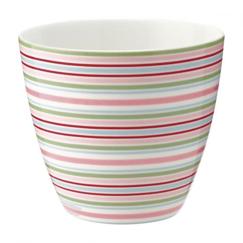 GREEN GATE / Latte cup Silvia Stripe White