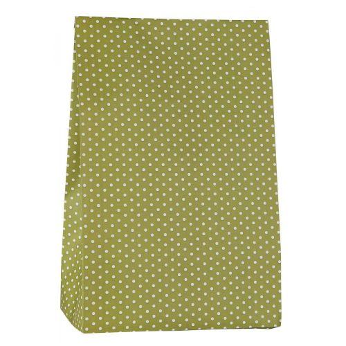 IB LAURSEN / Papierové vrecko Herbal Green Dots L