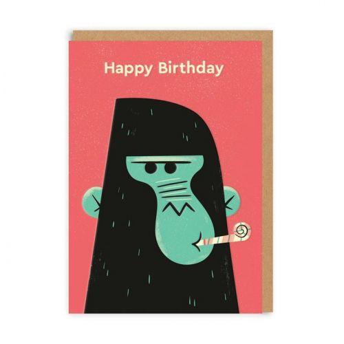 Ohh Deer / Prianie k narodeninám Birthday Gorilla