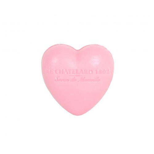 LE CHATELARD / Francúzske mydlo Heart - Ruže a pivonka 25gr