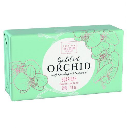 SCOTTISH FINE SOAPS / Luxusné tuhé mydlo Gilded Orchid 220g