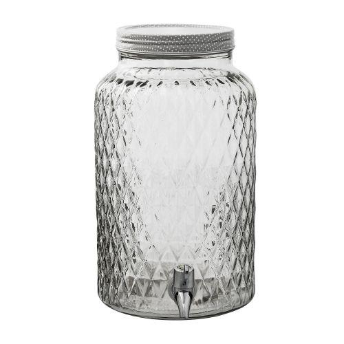 Bloomingville / Sklenená nádoba na nápoje - 6 L
