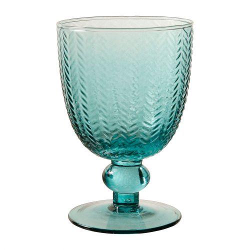 CÔTÉ TABLE / Pohárik na víno Mycenes Bleu 250 ml