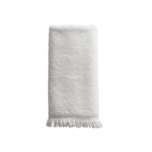 Tine K Home / Biely uterák Fringes 30x50 cm