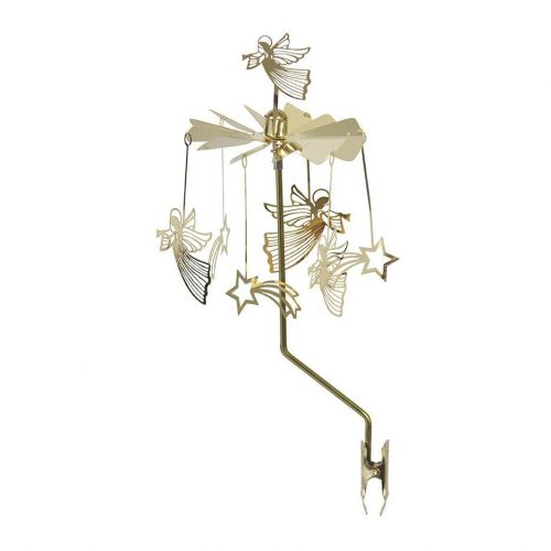 pluto produkter / Rotujúca dekorácia na svietnik Gold Angels