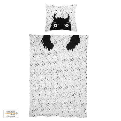 Bloomingville / Bavlnené obliečky pre deti Monster 140x200cm