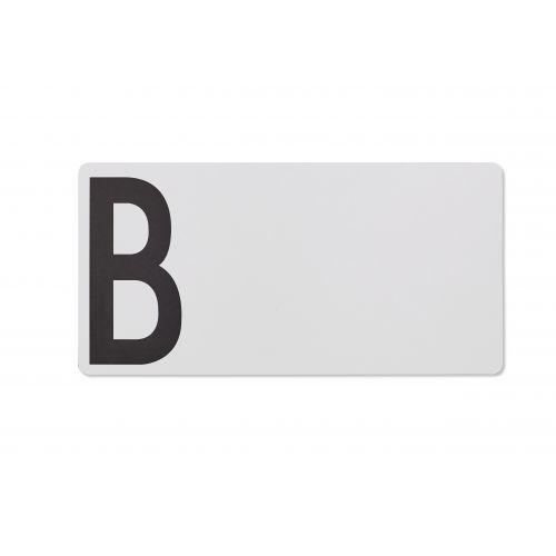 DESIGN LETTERS / Drevený šedý lopárik B
