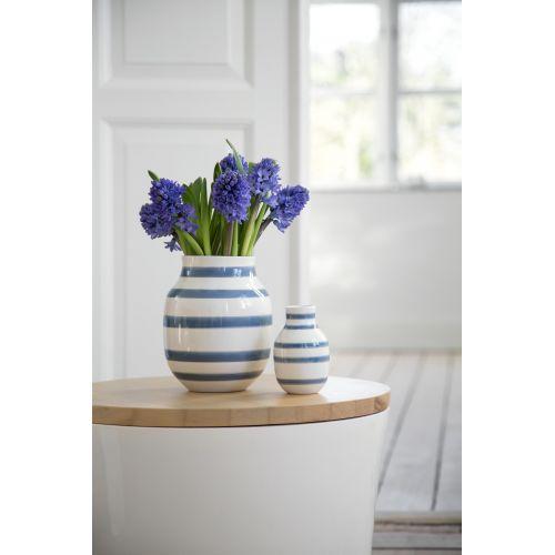 KÄHLER / Váza Omaggio Light Blue 21 cm