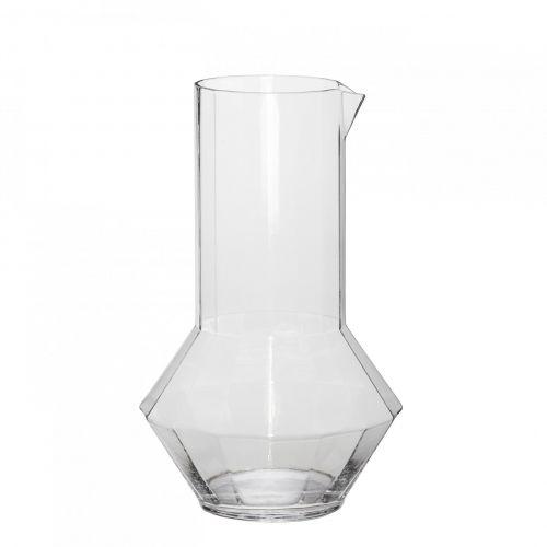 Hübsch / Sklenená karafa Clear 1,75 l