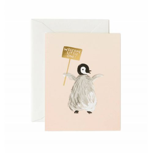 Rifle Paper Co. / Prianie s obálkou Welcome Penguin