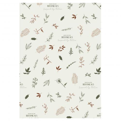 IB LAURSEN / Baliaci papier Botanicals - 10 m