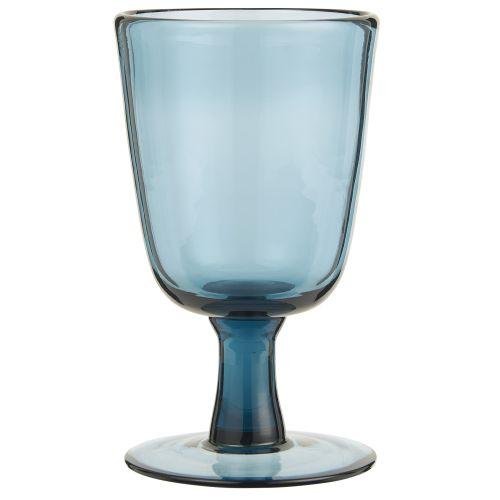 IB LAURSEN / Pohár na víno Glass Blue 180ml