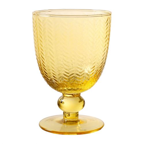 CÔTÉ TABLE / Pohárik na víno Mycenes Jaune 250 ml