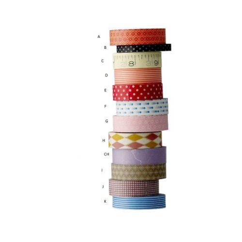 Bloomingville / Samolepiace farebné pásky