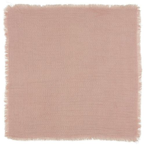 IB LAURSEN / Bavlnený obrúsok Double Weaving Light Pink