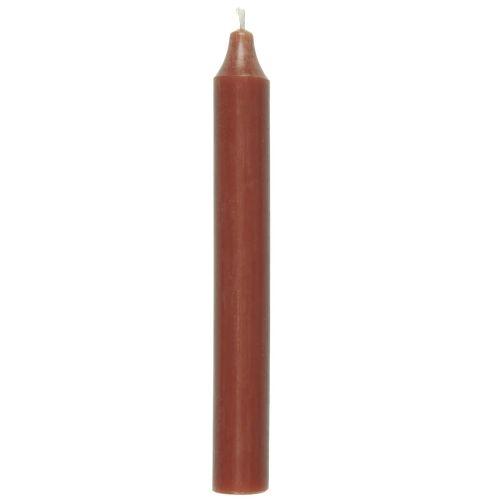 IB LAURSEN / Vysoká sviečka Rustic Autumn Red 18 cm
