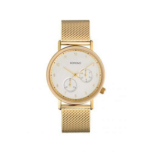 Komono / Unisex hodinky Komono Walther Gold Mesh