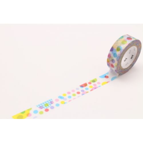mt / Designová samolepicí páska Random Dots