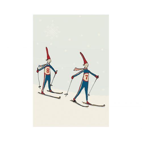 Maileg / Prianie Pixie skiing