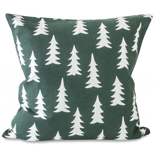 Fine Little Day / Obliečka na vankúš Gran Forest green 50x50 cm