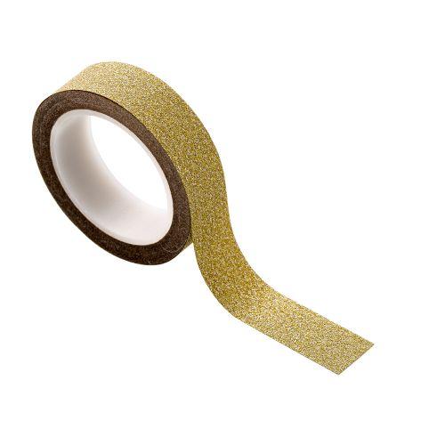 Bloomingville / Dizajnová lepiaca páska Gold 8 m