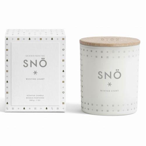 SKANDINAVISK / Vonná sviečka SNÖ (sneh) 200 g