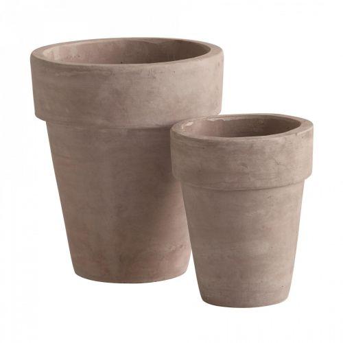 Tine K Home / Maxi terakotový kvetináč 70/90cm