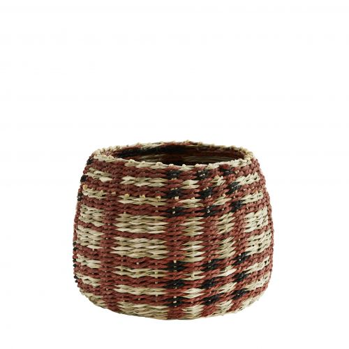 MADAM STOLTZ / Ručne pletený košík Paper Rope Basket