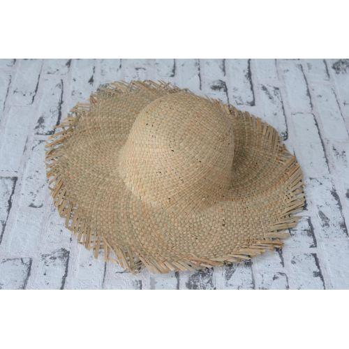 ... IB LAURSEN   Slaměný klobouk s širokým okrajem ... eaa574c871