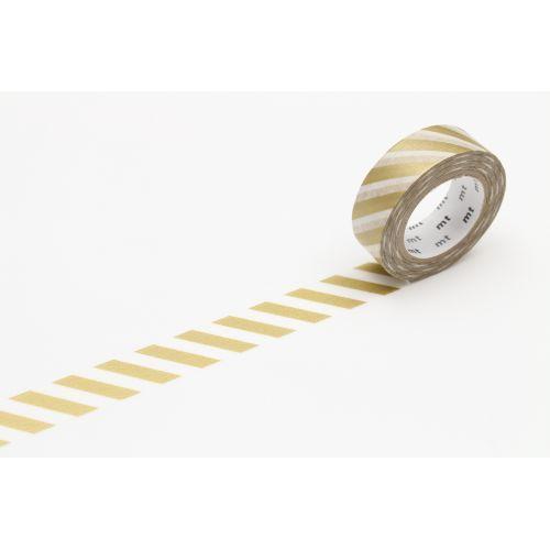 mt / Japonská papierová páska Gold Stripe II.