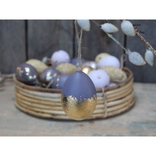 Chic Antique / Veľkonočné vajíčko Purple Sage