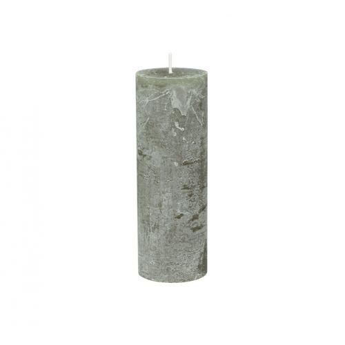 Chic Antique / Okrúhla sviečka Macon Rustic Olive 20cm