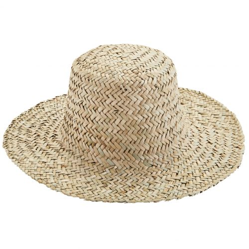 MADAM STOLTZ / Slamený klobúk Straw Natural
