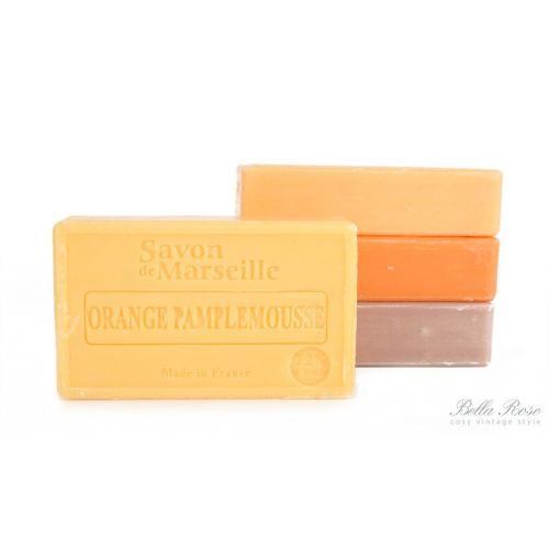 LE CHATELARD / Marseillské mydlo 100 g - pomaranč a grep