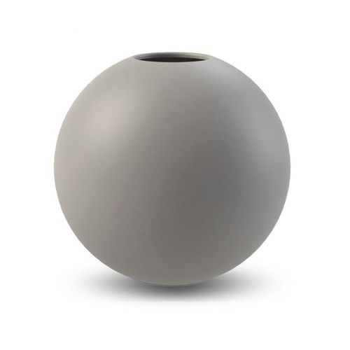COOEE Design / Kulatá váza Ball Grey 30 cm